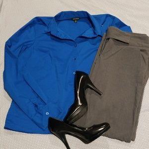 George Blue Button up Shirt